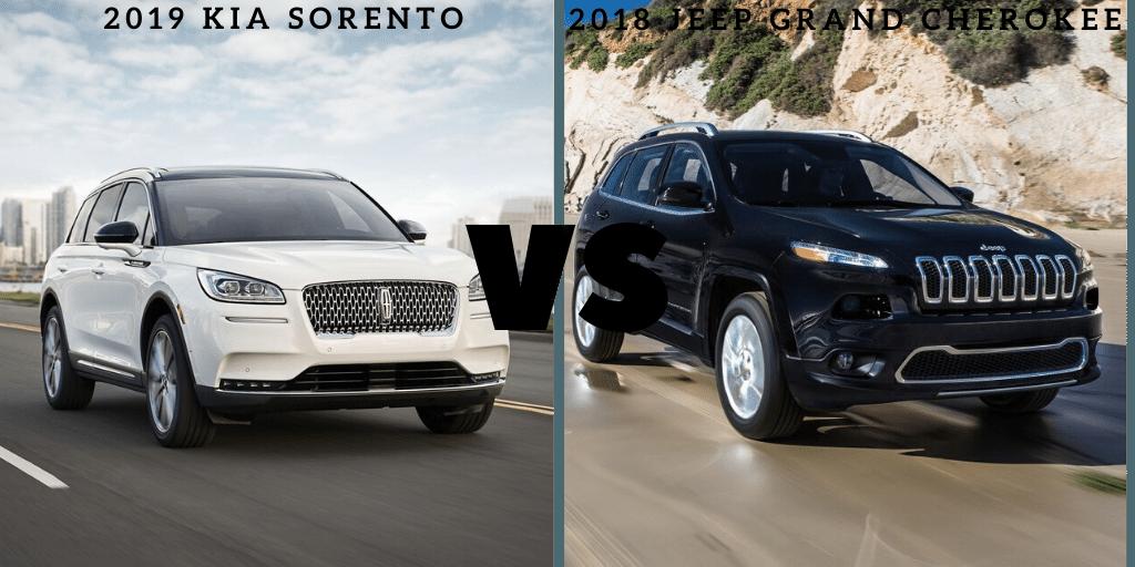 2019 Kia Sorento vs 2018 Jeep Grand Cherokee - Smyrna, GA