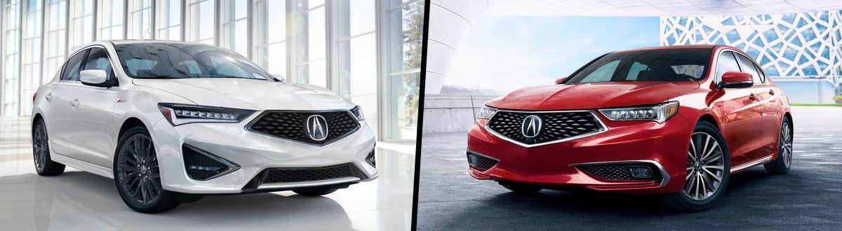 2019 Acura ILX vs 2019 Acura TLX
