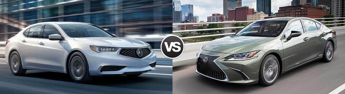 2019 Acura TLX vs 2019 Lexus ES 350