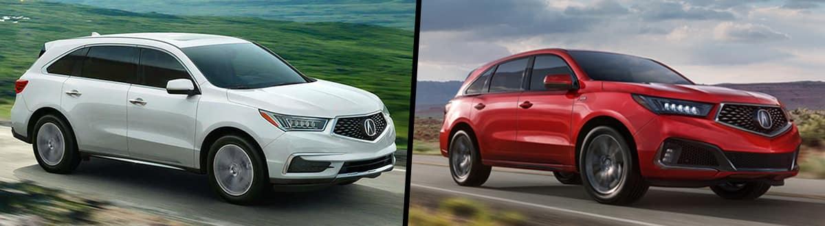 2020 Acura MDX vs 2019 Acura MDX