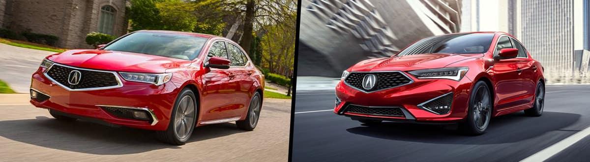 2020 Acura TLX vs 2020 Acura ILX