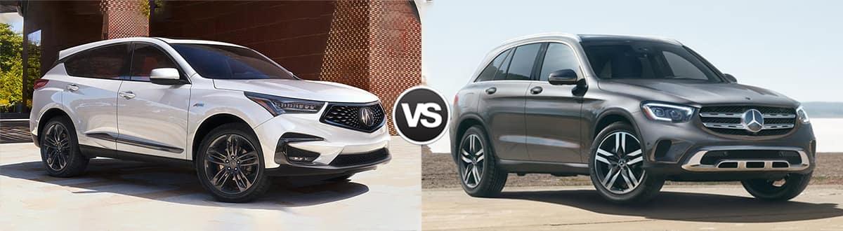 2020 Acura RDX vs 2020 Mercedes-Benz GLC