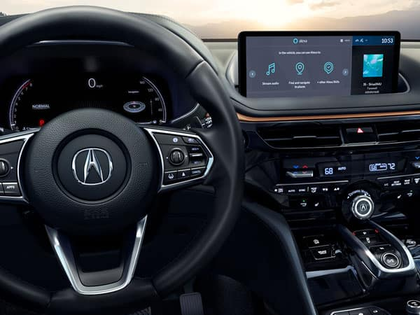 2022 Acura MDX Infotainment Display