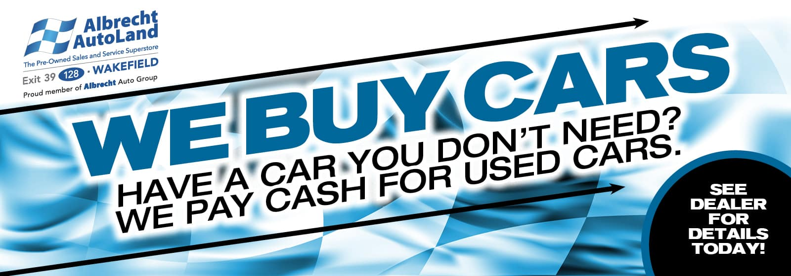 We Buy Cars. We Pay Cash For Used Cars