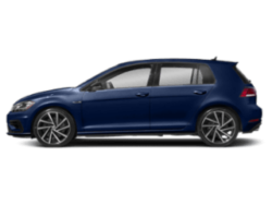 2019 VW Golf R - sideview