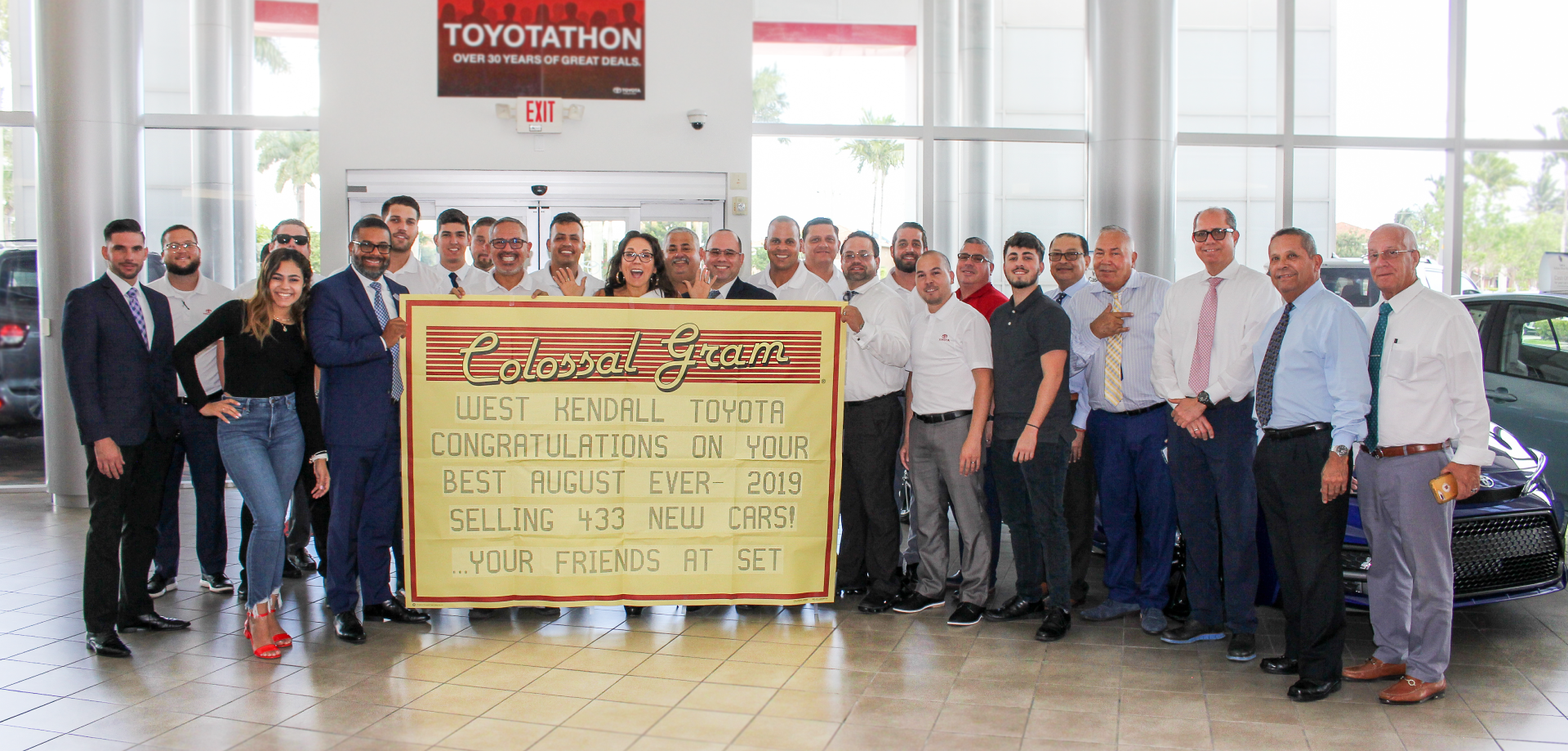 West Kendall Toyota Breaks Another Record Bean Auto Group