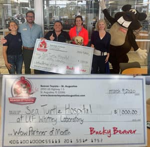 Sea Turtle Hospital Beaver Toyota Wow Partner