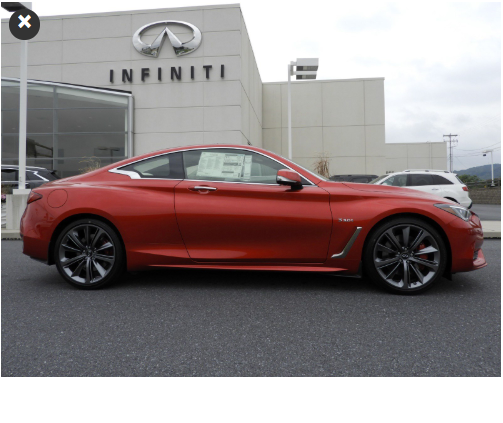 New 2018 INFINITI Q60 RED SPORT NOW ONLY $52,949!