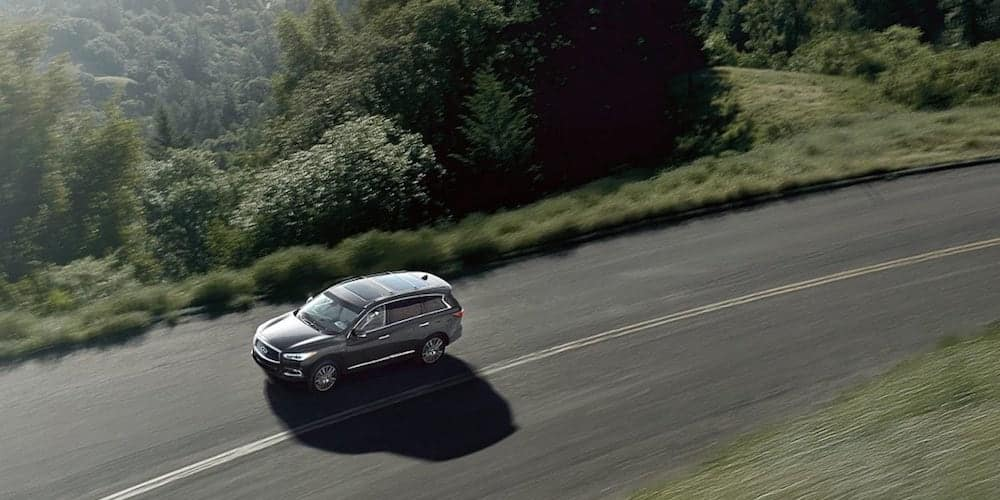 2019 INFINITI QX60 on Highway Corner
