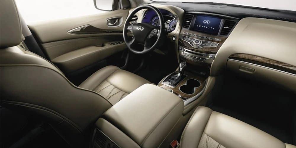 2020 INFINITI QX60 Front Interior and Dash