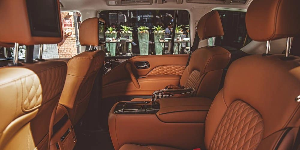 2020 INFINITI QX80 Rear Interior