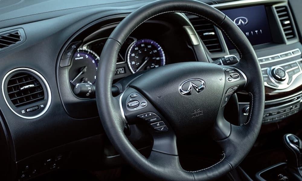 2020 INFINITI QX60 Front Interior