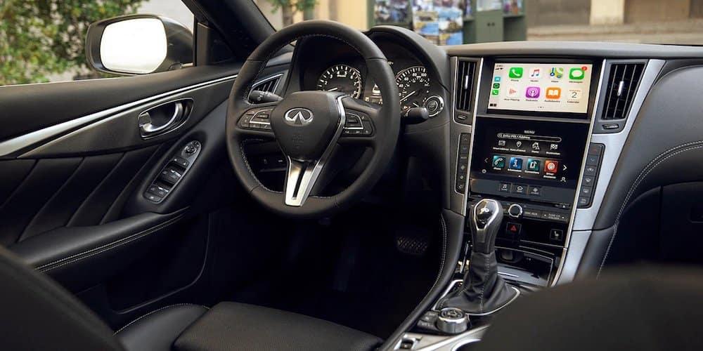 2020 INFINITI Q50 Front Interior and Dash