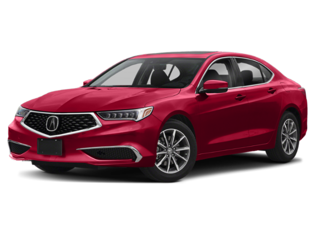 Red 2020 Acura TLX Comp