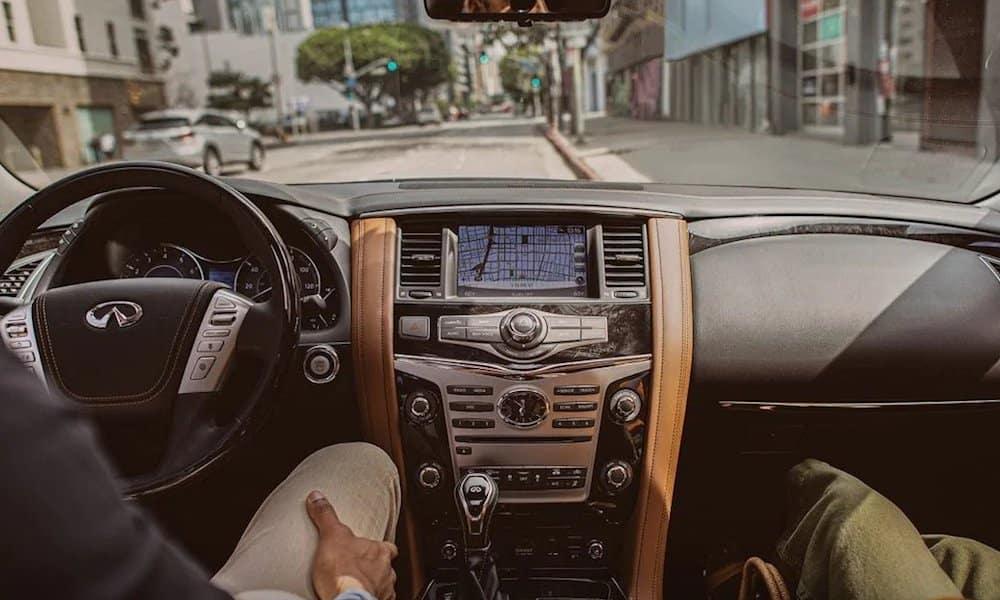 2019 INFINITI QX80 Front Interior Dash