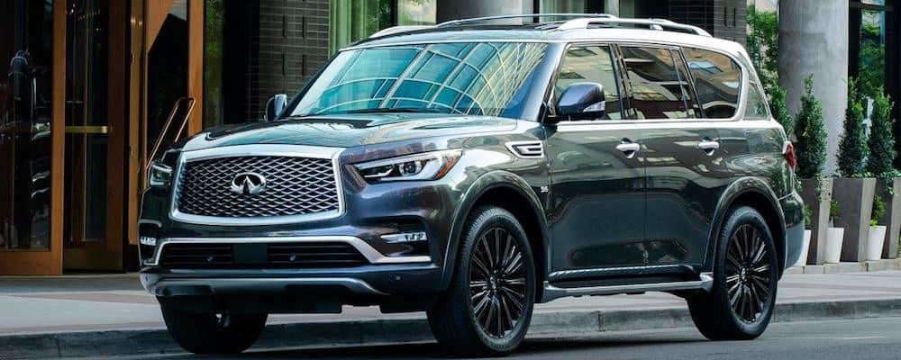 2019 INFINITI QX80 Parked on Street