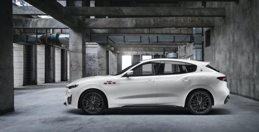 Bennett Maserati of Allentown is a Car Dealership in Allentown   2021 Maserati Levante parked in garage