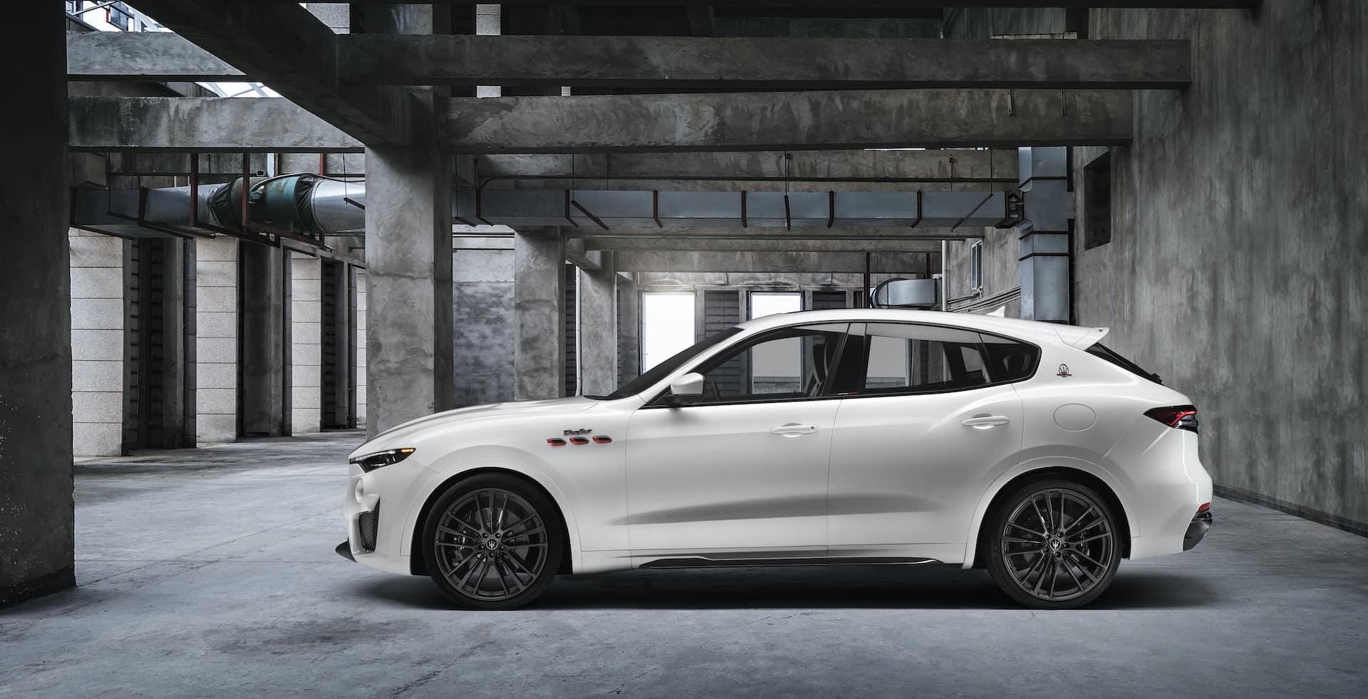 2020 Maserati Levante parked in garage   Bennett Maserati of Allentown is a Car Dealership near Reading PA in Allentown
