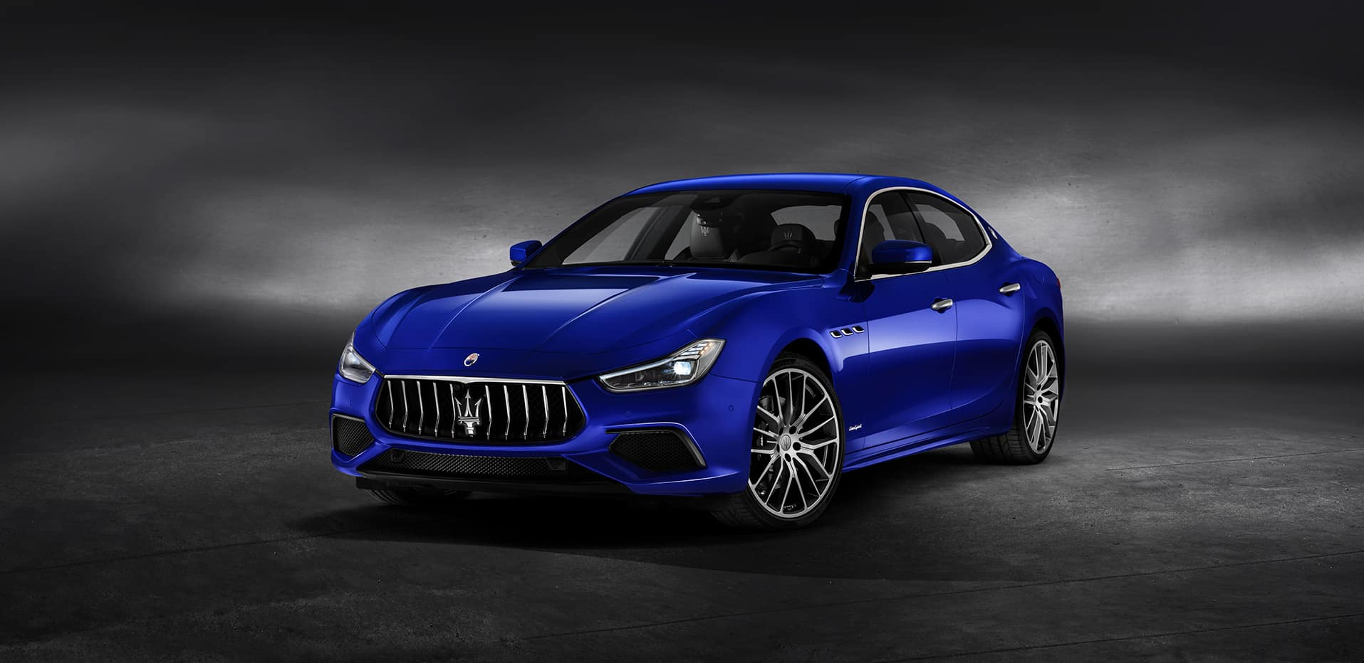 2020 Maserati Ghibli parked in showroom | Bennett Maserati of Allentown is a Car Dealership near Wescosville PA in Allentown