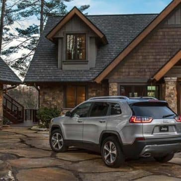 2019 Jeep Cherokee Rear