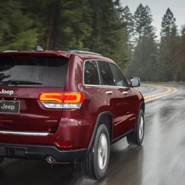 2020 Jeep Grand Cherokee Rear