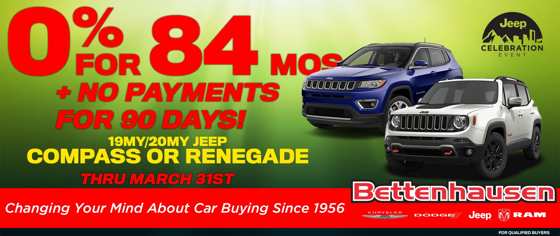 Jeep Compass and Renegade
