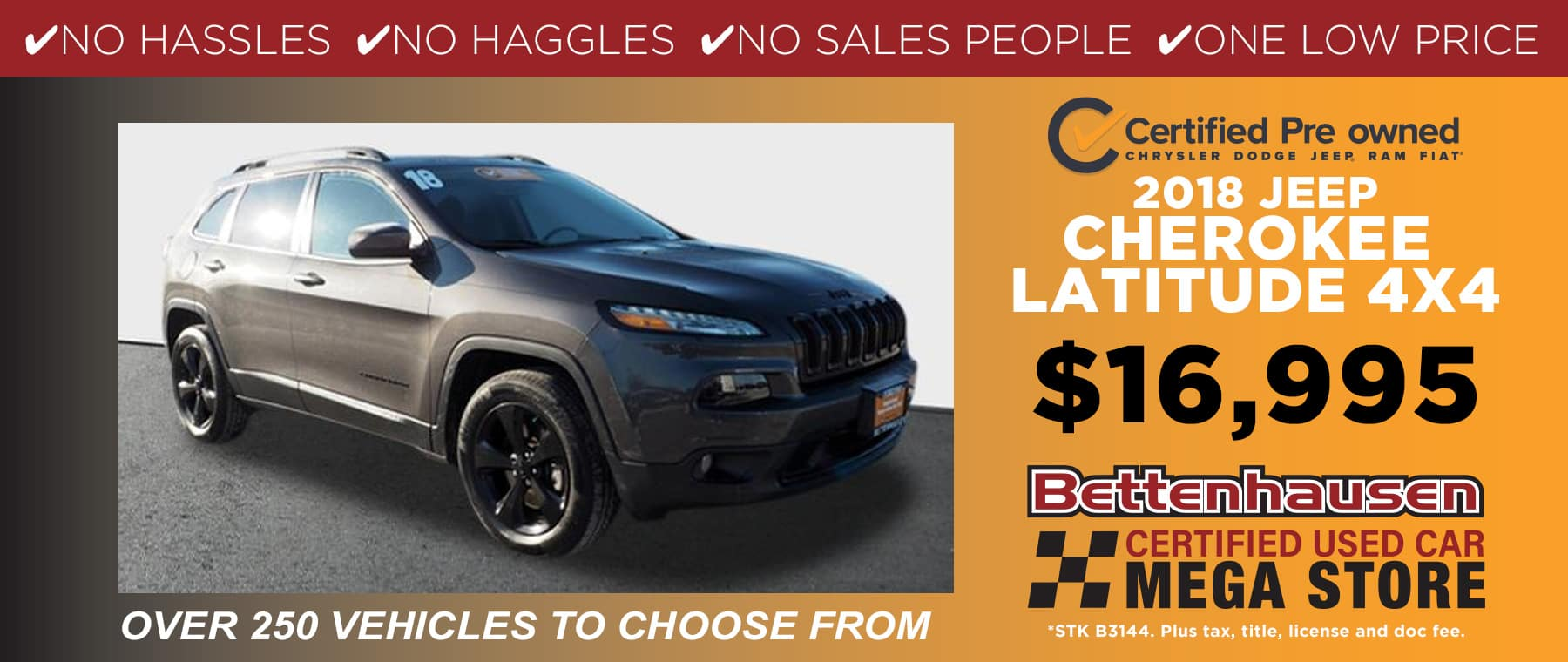 2018 Used Jeep Cherokee