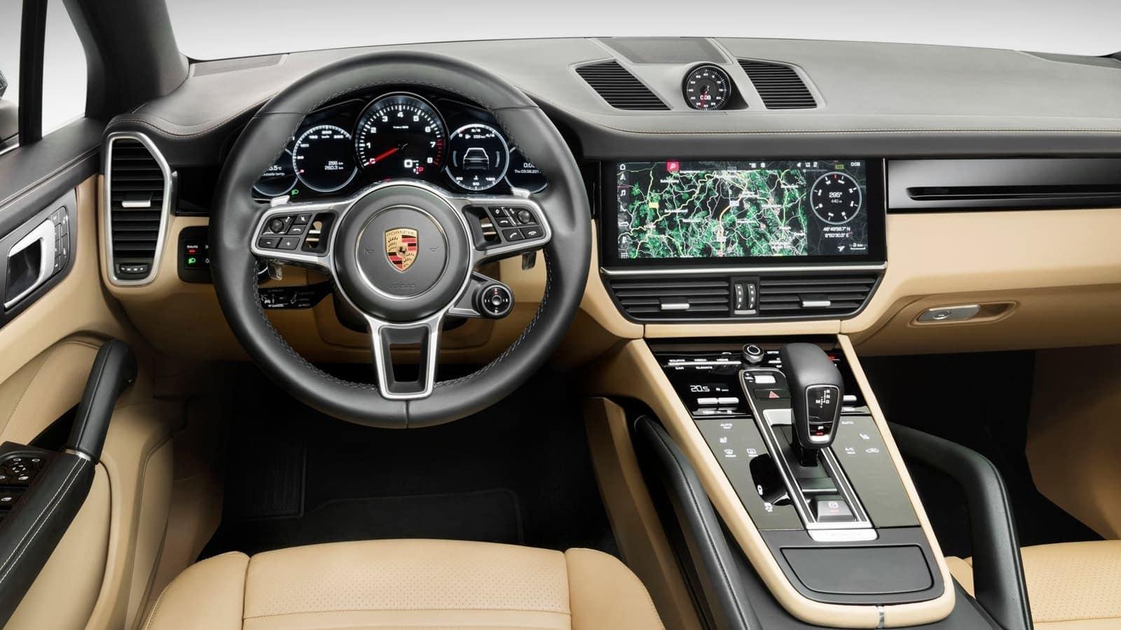 2019 Porsche Cayenne Driver Seat Gauges