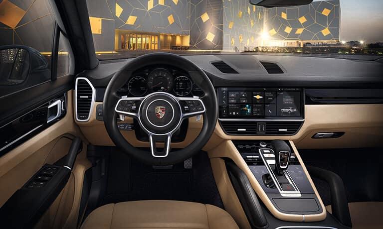 2021 Porsche Cayenne Interior dashboard