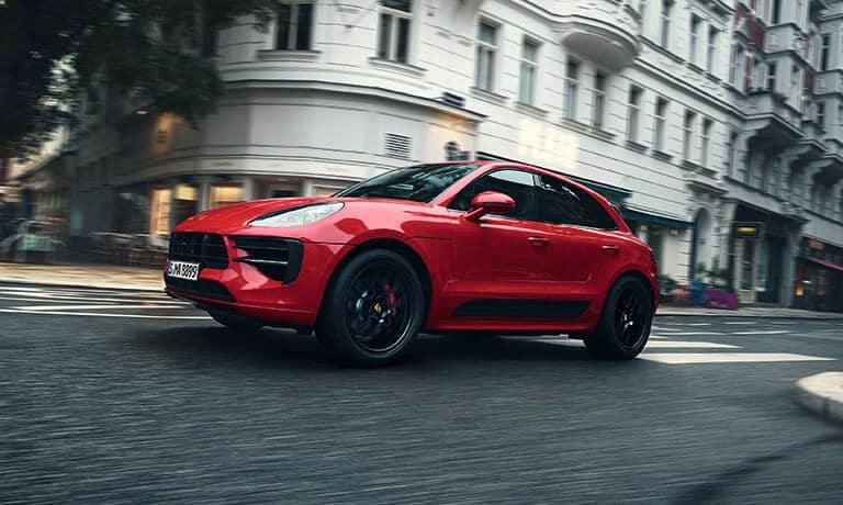 2021 Porsche Macan driving
