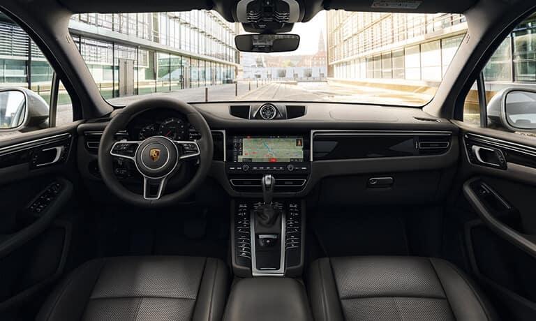 2021 Porsche Macan interior dashboard