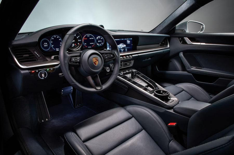 2019 911 Carrera Interior Cabin