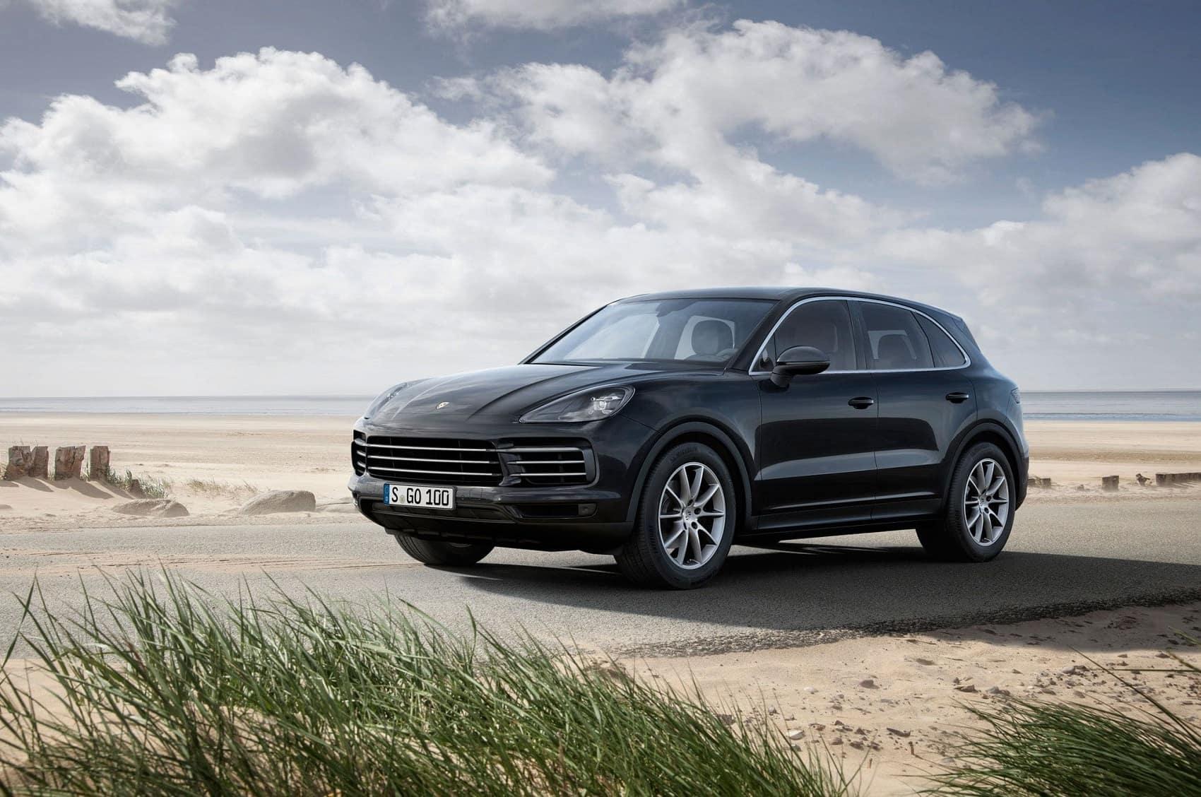 2019 Porsche Cayenne Exterior Front View