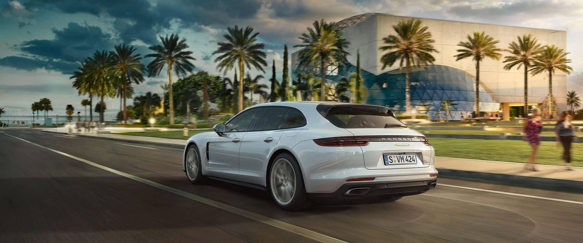 2019 Porsche Panamera Exterior Back