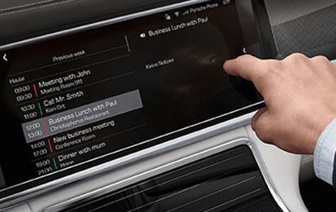 2019 Porsche Panamera Dashboard Technology