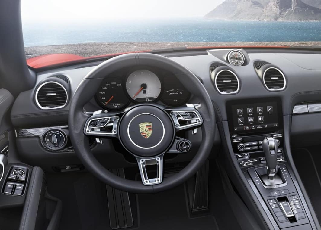 2019 Porsche 718 Boxster Interior