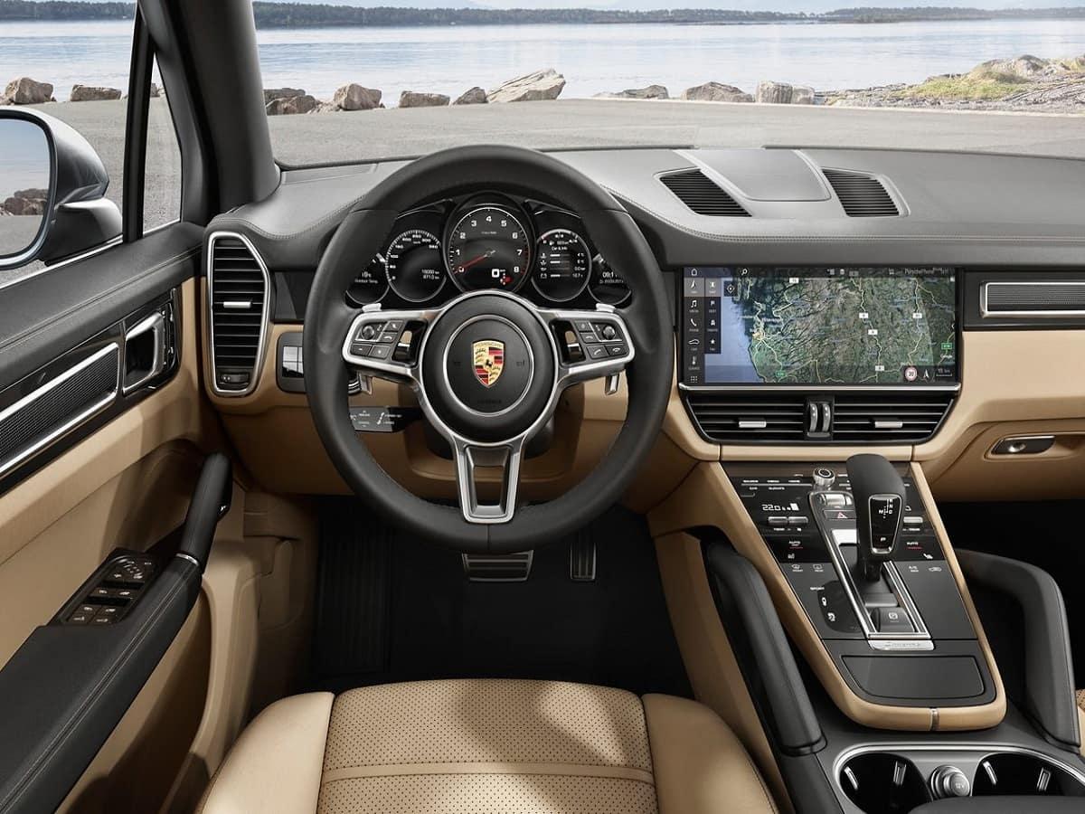 2019 Porsche Macan Driver Seat View