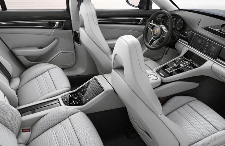 2019 Porsche Panamera Seating View