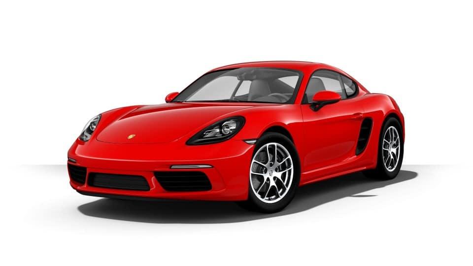2019 Porsche 718 Cayman Front Exterior Red