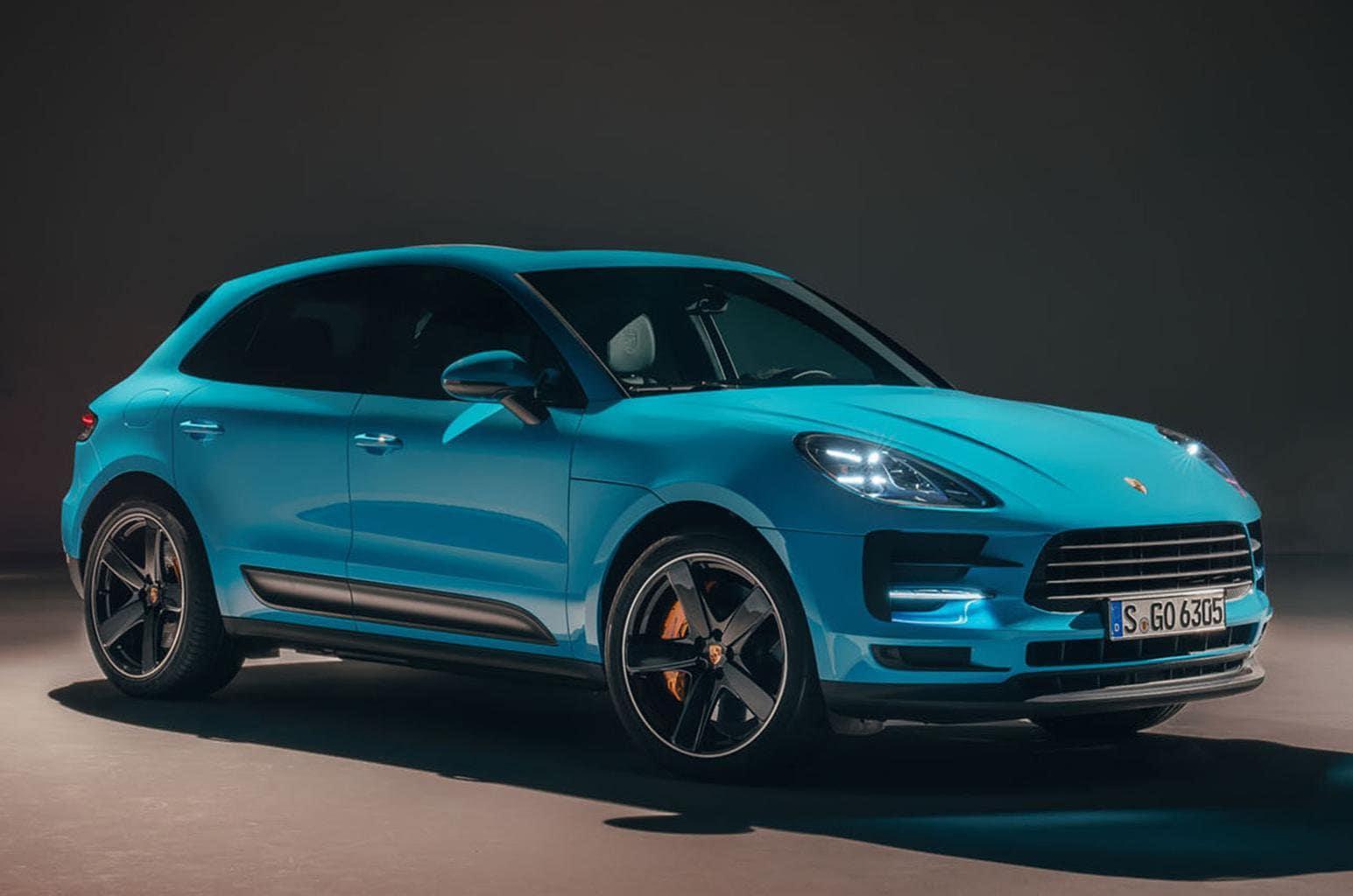 2019 Porsche Macan Side View