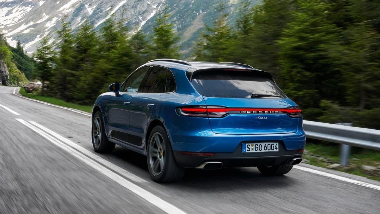 2019 Porsche Macan Exterior View