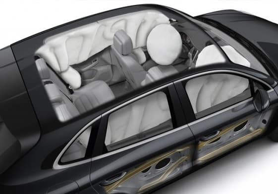 2019 Porsche Cayenne Safety Airbag View