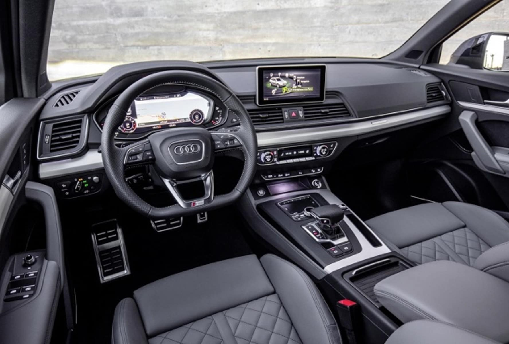 2019 Audi SQ5 Dashboard Interior View