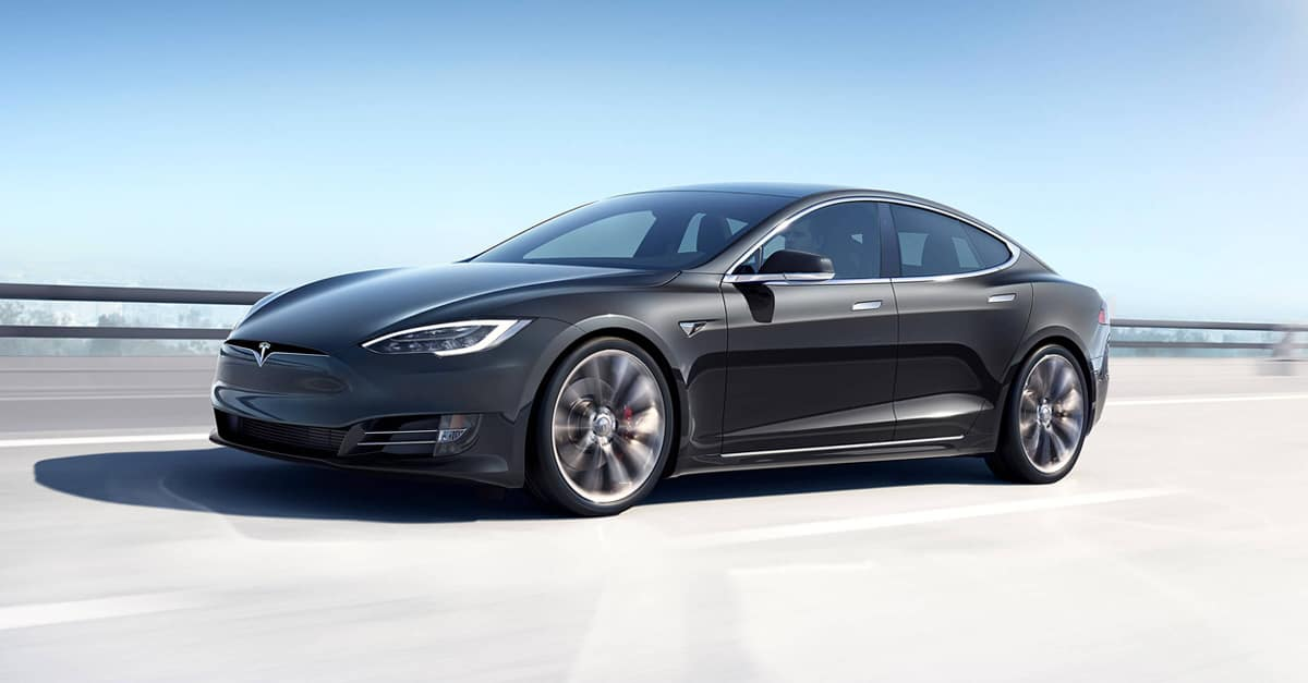 2019 Tesla Model S Side Exterior View