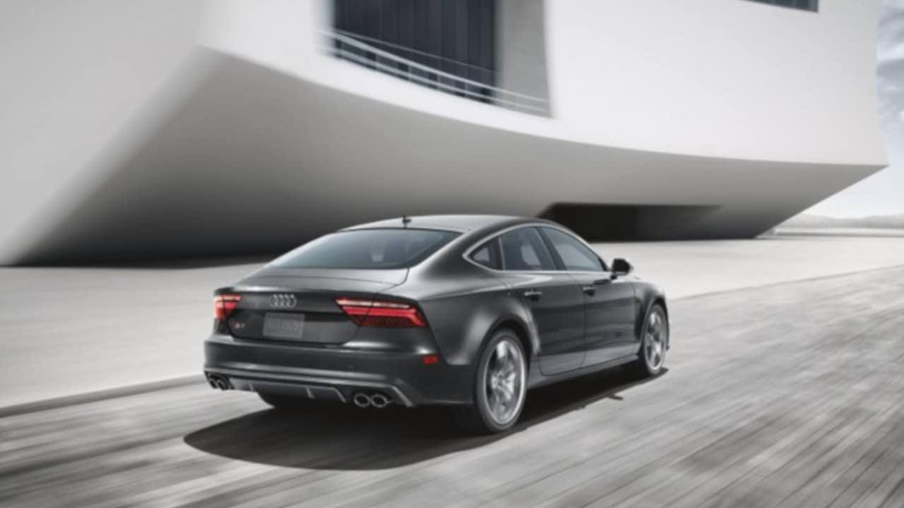 2018 Audi S7 Side Exterior View