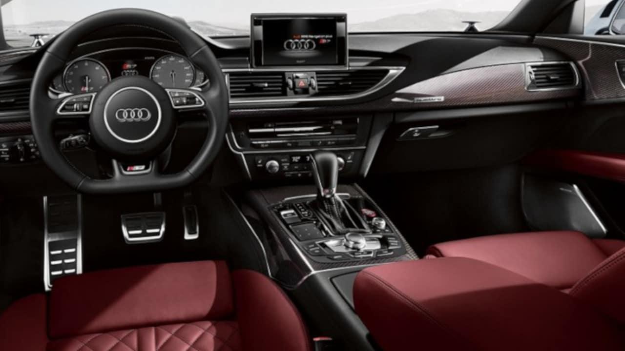 2018 Audi S7 Dashboard Technology