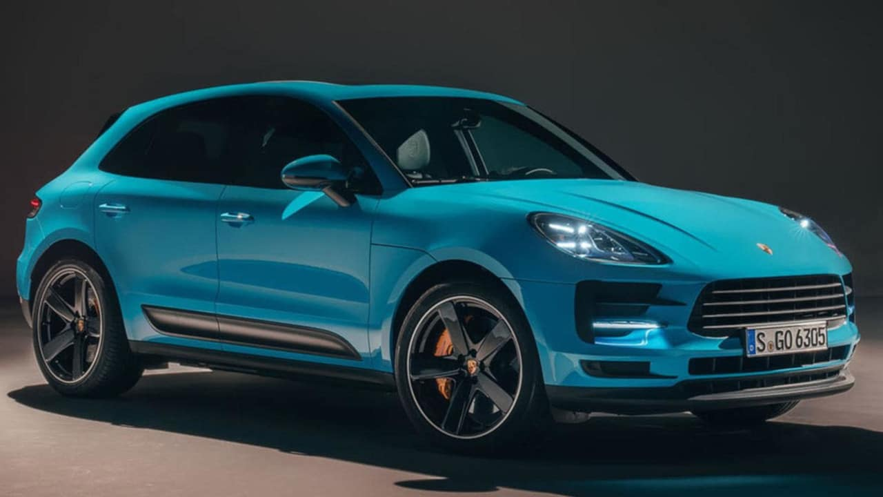 2019 Porsche Macan Side View