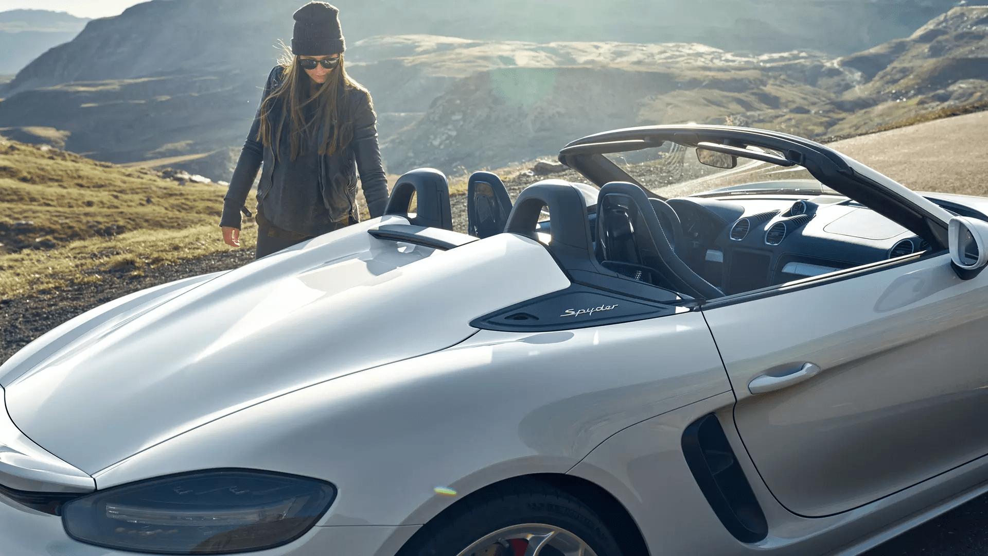 2020 Porsche 718 Spyder Exterior