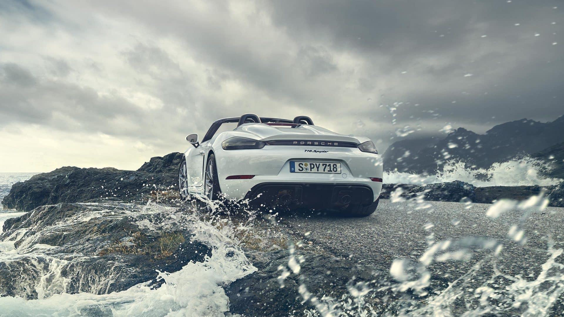 2020 Porsche 718 Spyder Performance