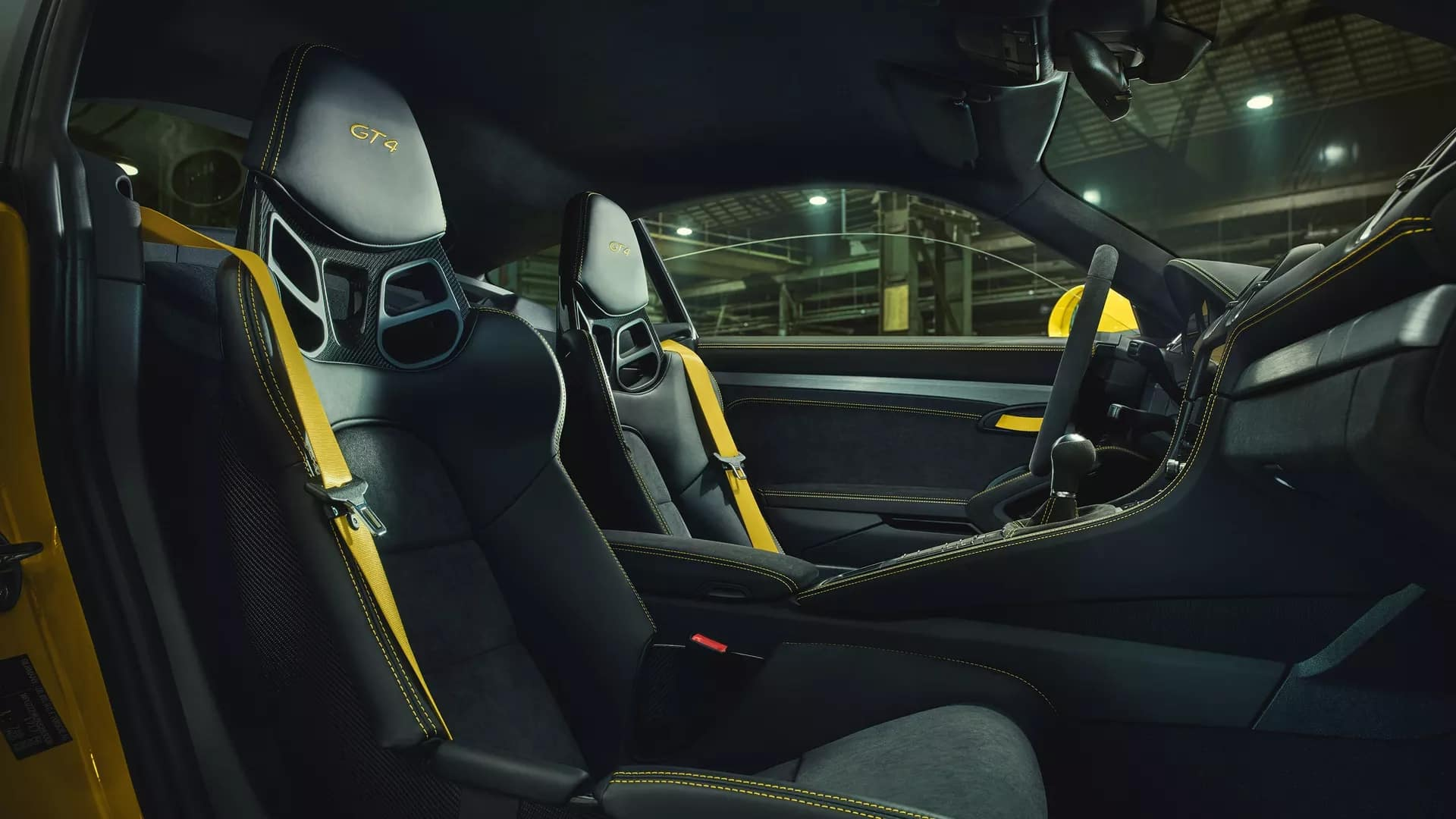 2020 Porsche 718 Cayman GT4 Technology